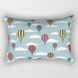 Colorful hot air balloons Rectangular Pillow