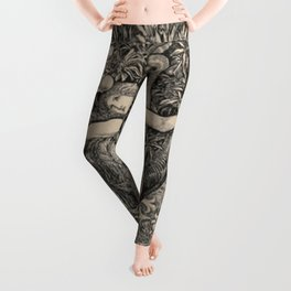 Eve And The Serpent Leggings