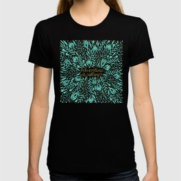 Adventure is Calling – Turquoise & Gold Palette T-shirt