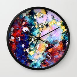 To The Other Side Of Light Wall Clock