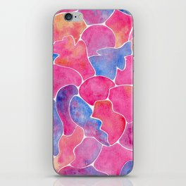 simply shapes iPhone Skin