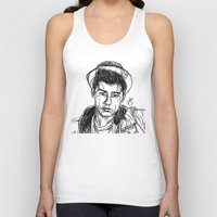 zayn malik Tank Tops featuring Zayn Malik by Hollie B