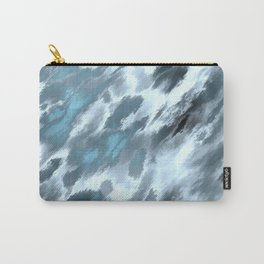 Blue animal print Carry-All Pouch