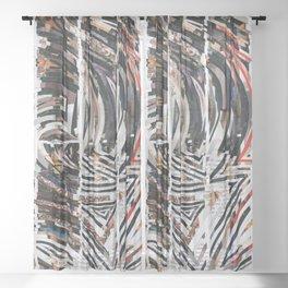 Travel Maze Sheer Curtain
