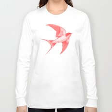 Barn Swallow (red) Long Sleeve T-shirt