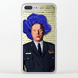 Major Briggs Clear iPhone Case