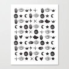 ICONOGRAPHY Canvas Print