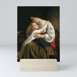 "William-Adolphe Bouguereau ""Getting Up (Le Lever)"" Mini Art Print"