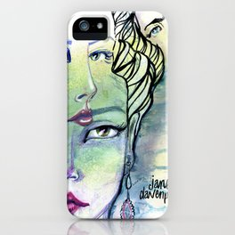 Fridalicious by Jane Davenport iPhone Case