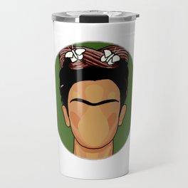 Cartoon Frida Travel Mug