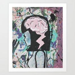 Creative Brainstorm Art Print
