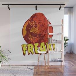 Freak Drawings: Tar Man Wall Mural