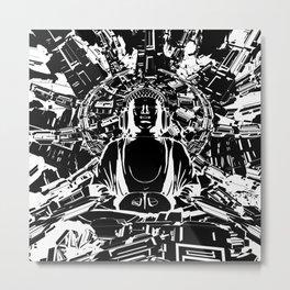 Hyper Zen Metal Print