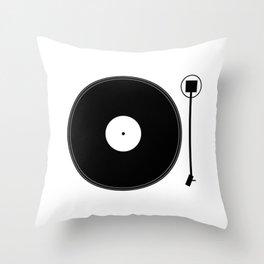 gramofon Throw Pillow
