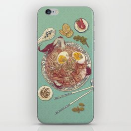 Phở Lady iPhone Skin