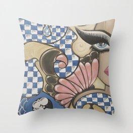 Daydream in Wonderland Throw Pillow