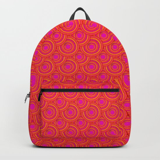 Tropical Parasols Pattern Backpack