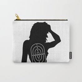 Female Human Shape Target Carry-All Pouch