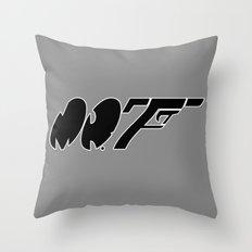 Mr. F Throw Pillow