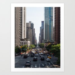 59th & 2nd Ave Art Print