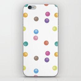 Bubble pattern 2 iPhone Skin