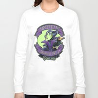 maleficent Long Sleeve T-shirts featuring Maleficent by KanaHyde