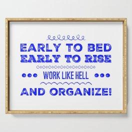 Work & Organize Serving Tray