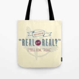 Read or Not Real Tote Bag