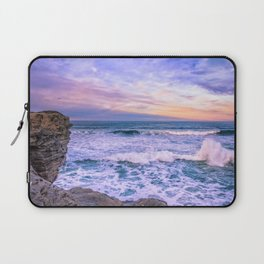 Sunset of the Bay of Biscay Laptop Sleeve