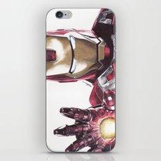 Iron Man Pen Drawing iPhone & iPod Skin