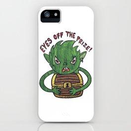 Greedy Goblin iPhone Case