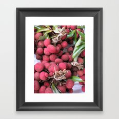 lychee Framed Art Print