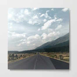 Road to Jasper Metal Print