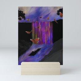 Rainbow Falls Mini Art Print