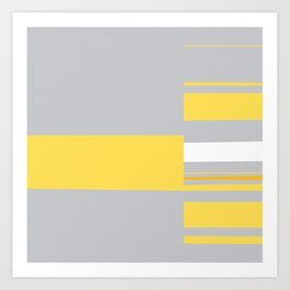 Mosaic Single 1 #minimalism #abstract #sabidussi #society6 Art Print