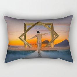 Another Way Of Vision Rectangular Pillow