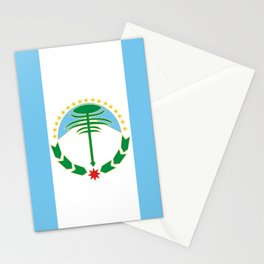 flag of Neuquen Stationery Cards