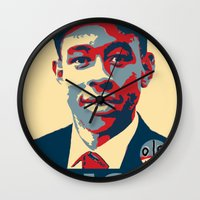 tyler the creator Wall Clocks featuring Tyler The Creator Hope Poster by Misadventures