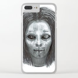 From the Ghoul Closet Clear iPhone Case