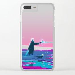PHAZED PixelArt 4 Clear iPhone Case