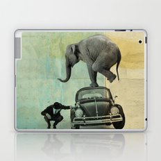 Looking for Tiny, Elephant on a VW beetle Laptop & iPad Skin