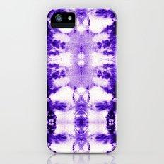 Tie Dye Purples Slim Case iPhone (5, 5s)