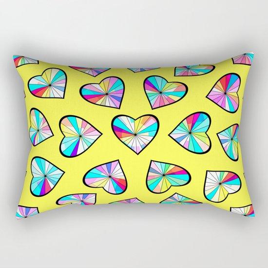 Hearts of glass II Rectangular Pillow
