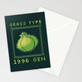 Grass Type Stationery Cards