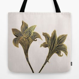 Indian Lily Daffodil Tote Bag