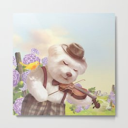 A Song For You Metal Print