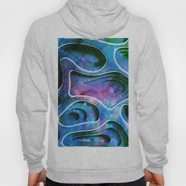 Colorful abstract 3D background pattern Hoody