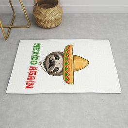 Make America Mexico Again Sloth Rug