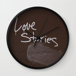LOVE STORIES! Wall Clock
