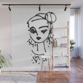 Luv U Wall Mural